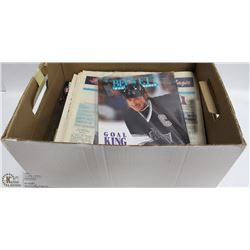 BOX OF ASSORTED COLLECTIBLES CARDS AND MORE
