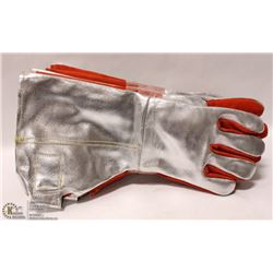 3 PAIRS OF HEAVY DUTY WELDING GLOVES