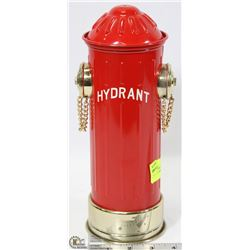 METAL FIRE HYDRANT DECANTER FOR OIL/LIQUOR