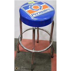 VINTAGE PERMATEX SHOP STOOL