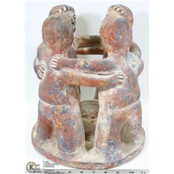 CIRCLE OF FRIENDS ACTEE MAYAN PRIMITIVE RED CLAY