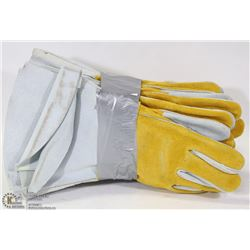 6 PAIRS OF LEATHER WELDRITE WELDING GLOVES
