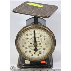 ANTIQUE COLUMBIA SCALE