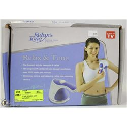 RELAX & TONE SLIMING AND TONING MACHINES