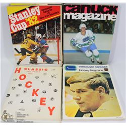 COLLECTIBLE SPORTS PROGRAMS HOCKEY 1970/80'S