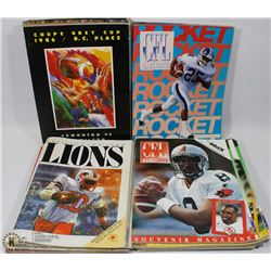 COLLECTABLE SPORTS PROGRAMS FOOTBALL 1980/90'S