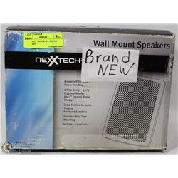 NEW NEXTECH WALL MOUNT SPEAKERS