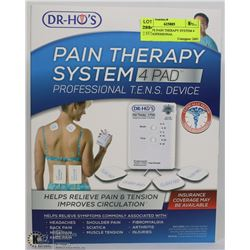 DR. HO'S PAIN THERAPY SYSTEM 4 PAD PROFESSIONAL