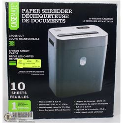 CASEMATE 10 SHEET PAPER SHREDDER