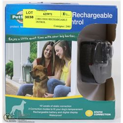 PETSAFE BIG DOG RECHARGEABLE BARK CONTROL