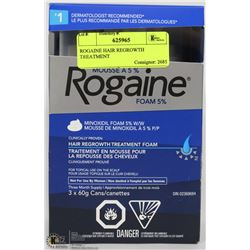 ROGAINE HAIR REGROWTH TREATMENT