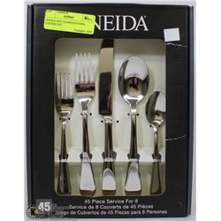 ONEIDA 45PC STAINLESS STEEL SERVING SET