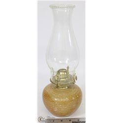 VINTAGE OIL LAMP WITH SHADE