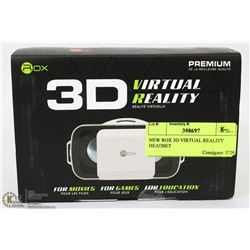NEW ROX 3D VIRTUAL REALITY HEADSET