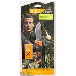 NEW BEAR GRYLLS SURVIVAL SERIES SCOUT KNIFE