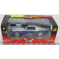 1967 SHELBY GT500 DIECAST CAR SCALE 1:24