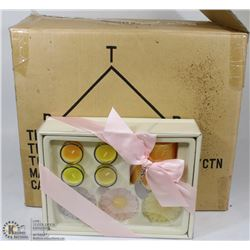 CASE OF 8 EASTER CANDLES SET