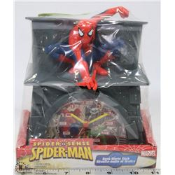 MARVEL SPIDERMAN BANK ALARM CLOCK