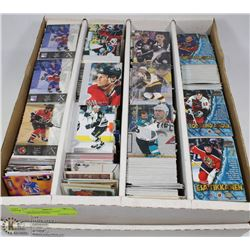 3000 PLUS HOCKEY CARDS ASSORTED YEARS