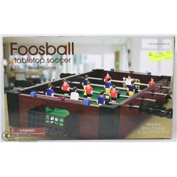 NEW FOOSBALL GAME