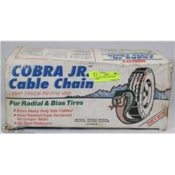 COBRA JR. CABLE CHAIN LIGHT TRUCK