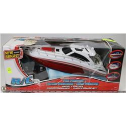 NEW BRIGHT REMOTE CONTROL POWERBOAT