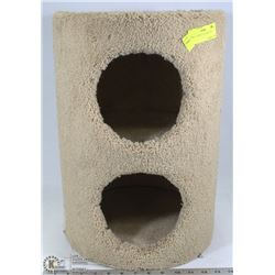 "SMALL 2 LEVEL CAT TREE 19""H"