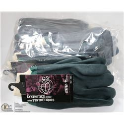 ONE DOZEN BOB DALE PVC WORK GLOVES