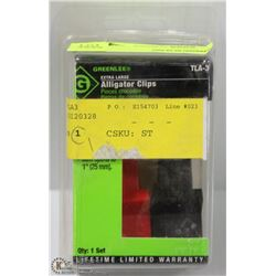 GREENLEE EXTRA LARGE ALLIGATOR CLIPS