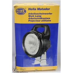 HELLA MATADOR WORK LAMP