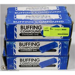 6 BOXES OF JACKSON LEA OSBORN BUFFING COMPOUND