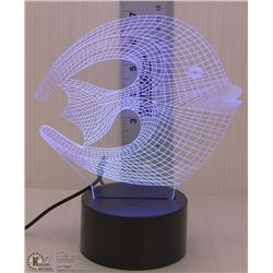 NEW LED CORAL FISH NIGHTLIGHT