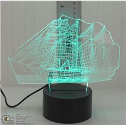 NEW LED SAILING SHIP NIGHTLIGHT