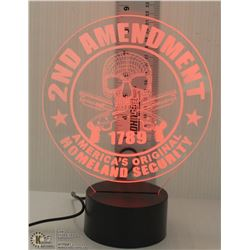 NEW LED 2ND AMMENDMENT NIGHTLIGHT