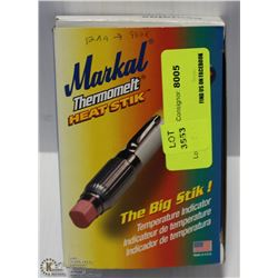 BOX OF MARKAL THERMOMELT HEAT STICKS