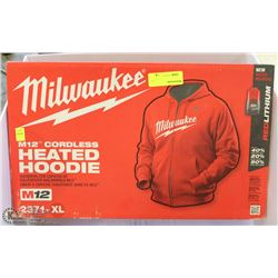 MILWAUKEE M12 HEATED HOODIE XL IN SIZE