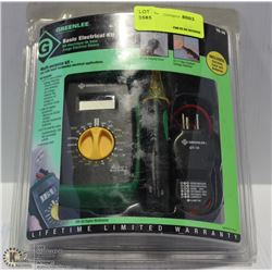 GREENLEE BASIC ELECTRICAL KIT