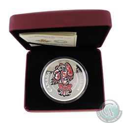 2016 Canada $50 Mythical Realms of the Haida - The Eagle 5oz Fine Silver Coin (TAX Exempt). This $50