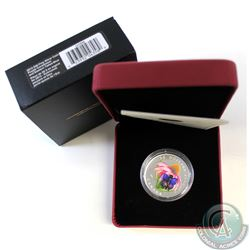 2013 Canada $20 Purple Coneflower & Eastern Tailed Blue Butterfly 1oz Fine Silver Coin (TAX Exempt).