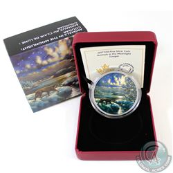 2017 Canada $30 Animals in the Moonlight - Cougar 2oz Fine Silver Coin (TAX Exempt). This 2-ounce 99