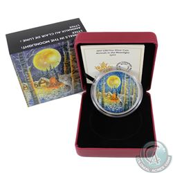 2017 Canada $30 Animals in the Moonlight - Lynx 2oz Fine Silver Coin (TAX Exempt). This 2-ounce 99.9