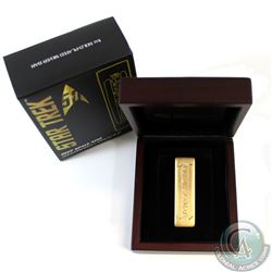 2016 Australia Deep Space Nine - Gold Pressed 1oz Fine Silver Latinum Slip (TAX Exempt). This bar is