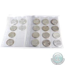 Lot of 18x 1987-2017 United States $1 Fine Silver Eagles (TAX Exempt). You will receive the followin