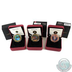 Lot of 3x Canada 50-cent Lenticular Coins in All Original Packaging. You will receive 2008 Holiday S