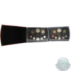1999 & 2011 Canada 8-coin Double Dollar Proof Sets. Some coins are toned (1999 missing outer sleeve