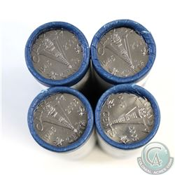 Lot of 4x 2005 Canada 5-cent VE Day Victory Original Wrapped Rolls. 4pcs