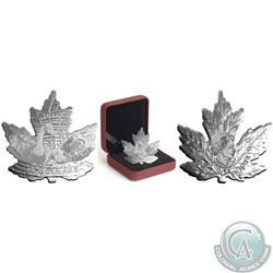 Royal Canadian Mint Lot of 4: 2016 $10 Maple Leaf Silhouette: Canada Geese Fine Silver Coin (mintage