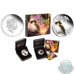 Royal Canadian Mint/Perth Mint Lot of 3x Bird Themed Coins: 2012 Australian 50-cent Bush Babies II: