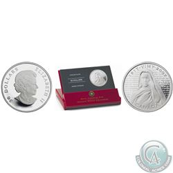 RCM Lot of 2 -1917-2007 Canadian War Memorials: Canadian National Vimy Ridge $30 Sterling Silver Coi