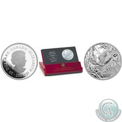 RCM Lot of 3: 2005 National Parks – Pacific Rim Fine Silver $20 Coin (20,000 mintage); 2005 National